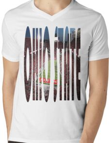 Ohio State, Ohio Stadium Mens V-Neck T-Shirt