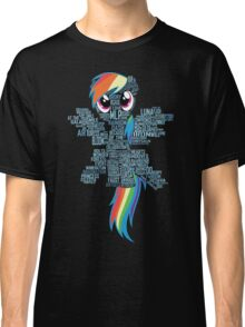 I am a brony because... Classic T-Shirt