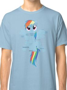 I am a brony because... Classic T-Shirt