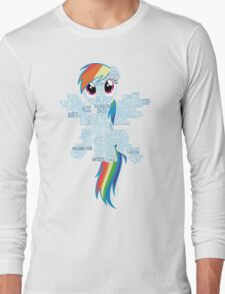 I am a brony because... Long Sleeve T-Shirt