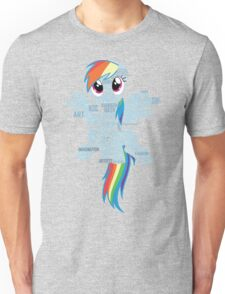 I am a brony because... Unisex T-Shirt
