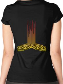 sound T shirt Women's Fitted Scoop T-Shirt