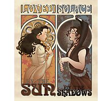 Loved and Solace Nouveau Photographic Print