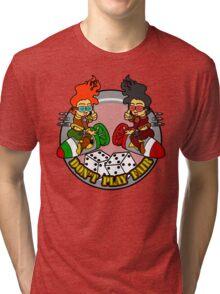 Nose Art Tri-blend T-Shirt