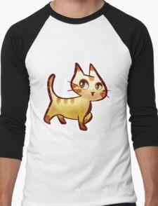 Pretty Kitty Men's Baseball ¾ T-Shirt