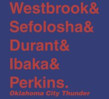 2011-2012 Oklahoma City Thunder Jetset by RiceRemix