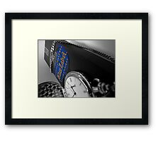Blended Time Framed Print