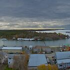 Yellowknife Bay from Pilot's Monument, Yellowknife NWT Canada by Phil McComiskey