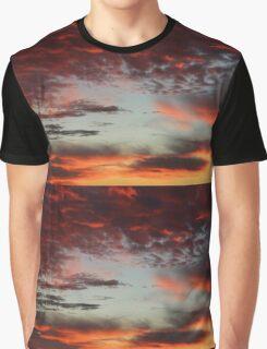 Sky over Munich 13th November 2015 - 42 Panorama Graphic T-Shirt