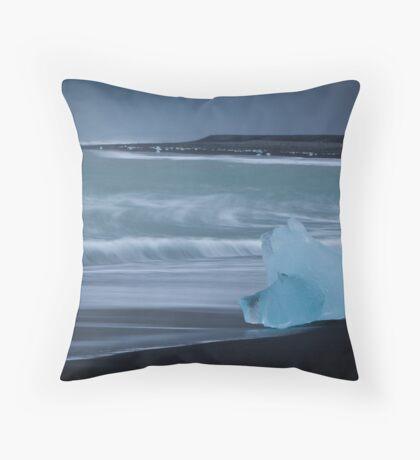 Jokularson Icebergs Throw Pillow
