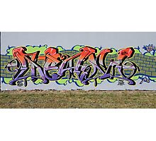 Street Art: Left Side (of the wall). Photographic Print