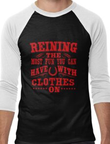 Reining! The most fun you can  Men's Baseball ¾ T-Shirt