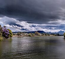 Storms Over Mt Warning by Ron Finkel