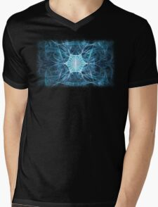 Snowflake Mens V-Neck T-Shirt