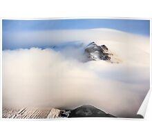 Mount Hood under a Lenticular Cloud Poster