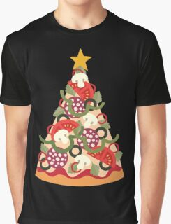 Pizza on Earth - Pepperoni Graphic T-Shirt