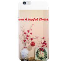 Joyful Christmas iPhone Case/Skin