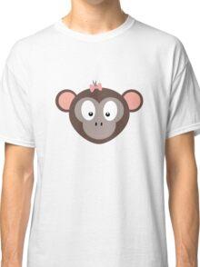 Monkey with pink ribbon Classic T-Shirt
