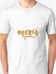 Merci Unisex T-Shirt