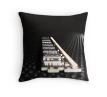 Close-Up Throw Pillow