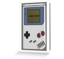Nintendo Gameboy  Greeting Card