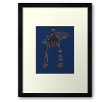 iron giant Framed Print