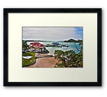 HDR New Zealand Landscape Framed Print