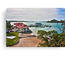 HDR New Zealand Landscape Canvas Print