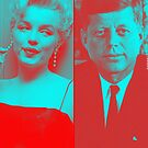 JFK x MARILYN MONROE by Gargant