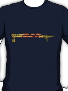 Troy and Abed Shooting Lava! T-Shirt