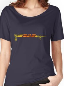 Troy and Abed Shooting Lava! Women's Relaxed Fit T-Shirt
