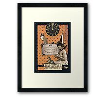 Magical Creatures Framed Print