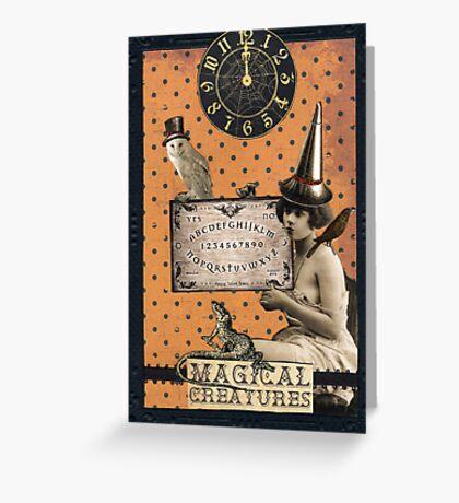 Magical Creatures Greeting Card
