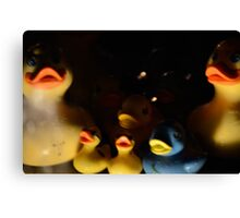 Fowl Suburbia 01 Canvas Print