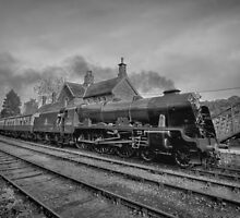 46100 Royal Scot  - Black and White Version by © Steve H Clark Photography