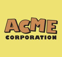 ACME corporation (orange) Kids Tee