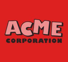 ACME corporation (semi trans) Kids Tee