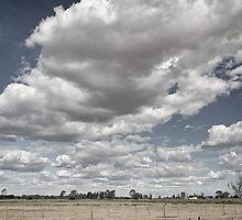 Long white cloud - Tongala by Norman Repacholi
