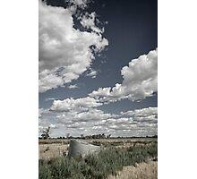 The Tank's Dry - Tongala Photographic Print