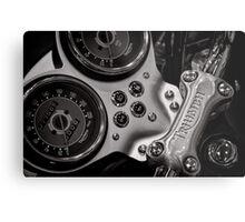 Triumph handlebar clamp Metal Print