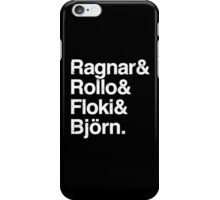 The Norse Four iPhone Case/Skin