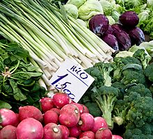 Fresh Vegetables by Kuzeytac