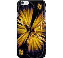 Golden Flower Star iPhone Case/Skin
