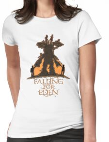 Falling For Eden Womens Fitted T-Shirt