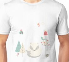 Christmas baby fox 05 Unisex T-Shirt