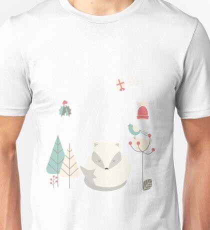 Christmas baby fox 05 Unisex T-Shirt