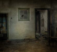 Burned down house, the dark side. by Nicole W.