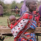 Masai mother and child by Amy Wilson