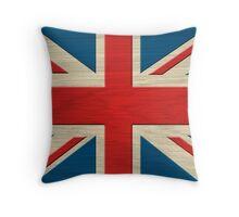 Union Jack - United Kingdom Throw Pillow
