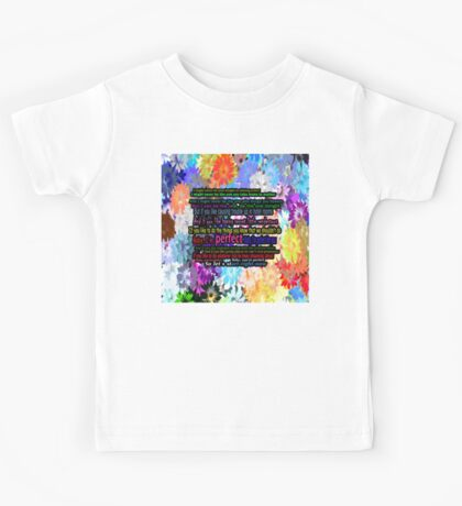 one direction perfect Kids Tee